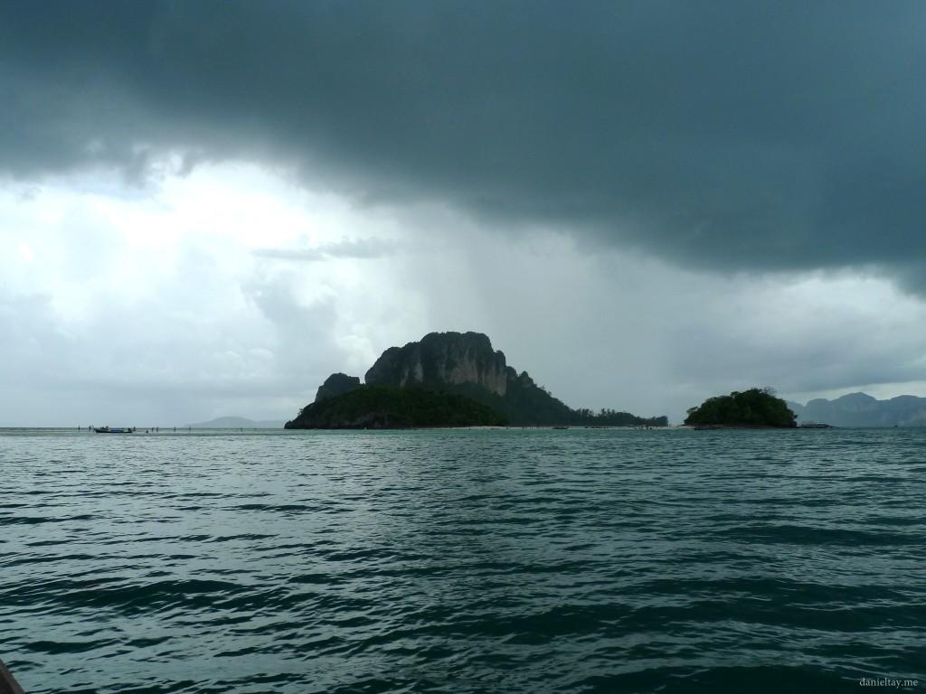 heavy rain krabi